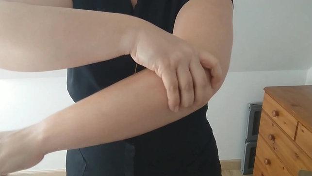 Auto-massage mains