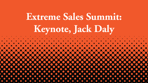 Extreme Sales Summit Keynote