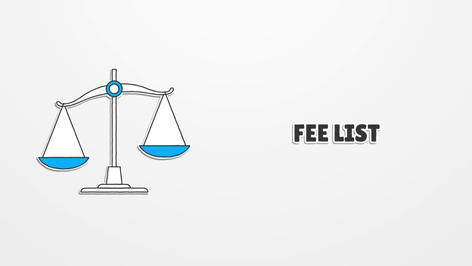 SwitchBIT Fee List