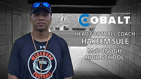 Real Talk from Real Coaches: Hakeem Sule, McDonogh HS