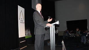 Greg Chappell MBE at our Fourth Annual Dinner