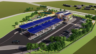 100% RENEWABLE ULTRA FAST CHARGING INFRASTRUCTURE