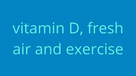 Vitamin D, fresh air & exercise. Lush!