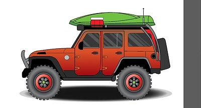 Jeep Timelapse