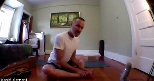 One hour class: Lotus pose.
