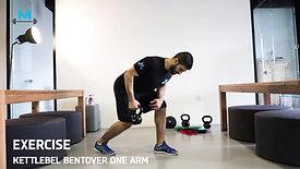 kettlebell bentover one arm