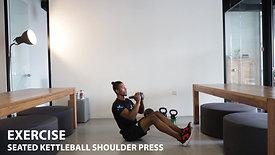 Seated Kettle-bell Press Shoulder