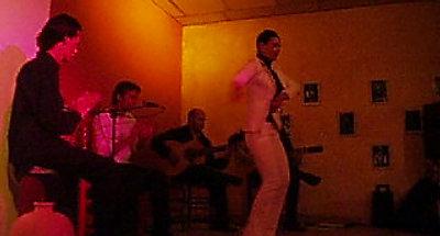 Danse flamenco por tientos