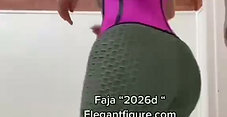 2026D Short Torso waist trainer