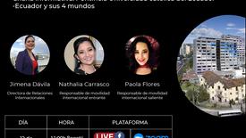Charla informativa PUCE - Ecuador y sus 4 mundos