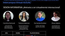 Internacionalización desde casa. Vive la experiencia del Intercampus Virtual AUSJAL