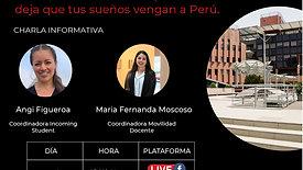 Charla Informativa Universidad del Pacífico: Deja que tus sueños vengan a Perú