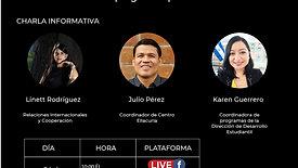 Charla informativa: UCA El Salvador: del pulgarcito para el mundo