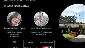 Charla informativa: Universidad Rafael Landívar - Landívar Internacional
