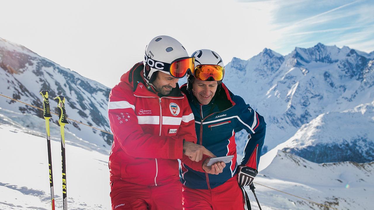 Film Schneesportschule Saas-Grund