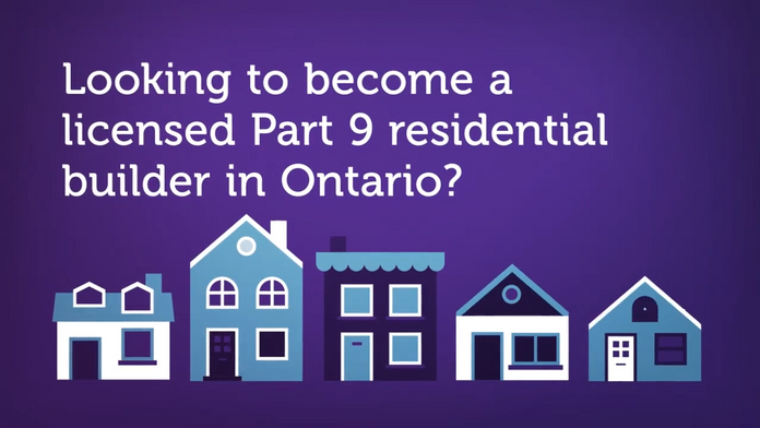 buildABILITY's Guide to Become a Part 9 Residential Builder in Ontario