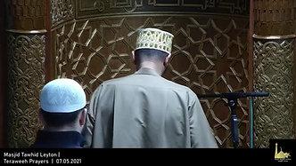 Teraweeh Prayers     07.05.2021