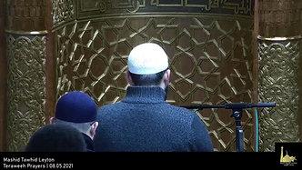Teraweeh Prayers   08.05.2021