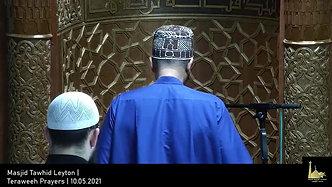 Teraweeh Prayers   10.05.2021