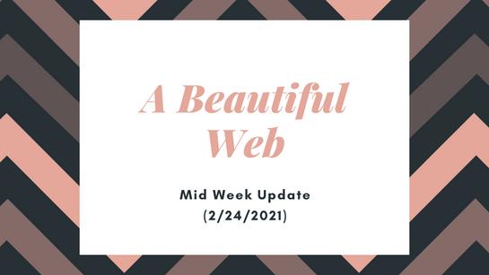 Mid Week Update (2/24/2021)