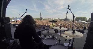 Swedenrock Festival 2019 - Krokus - DrumcamGoPro