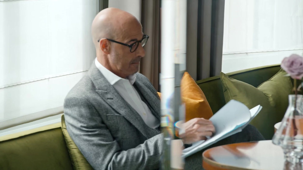 Stanley Tucci - Behind the scenes video 2