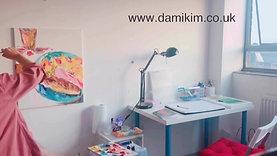 Short Artist Talk, The Food- Practice Painting Process