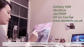 Solitary Hill 6-Painting Process