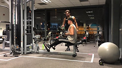 How To Guide: Post Exhaust Superset Using Cable Row & Ball Dumbbell Pullover