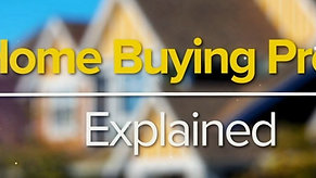 The Home Buying process explained - JWHT