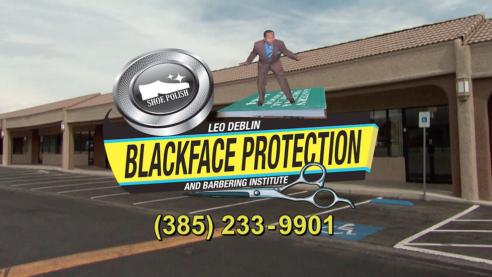 "Comedy Central & Zoomari Films- The Daily Show: Leo Deblin's ""Blackface Protection"""