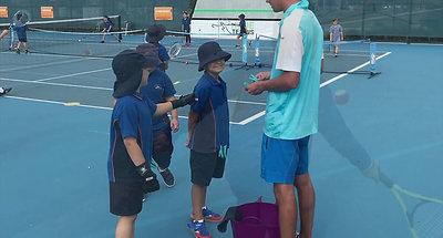 sporting schools 2018 tennis