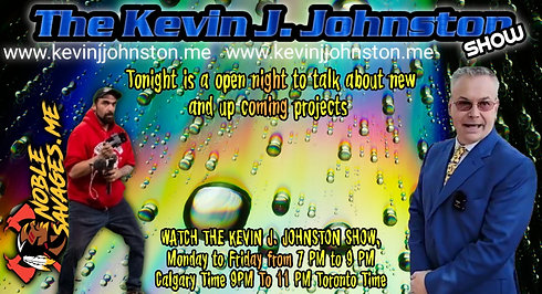 The Kevin J. Johnston Up And Coming Projects and More