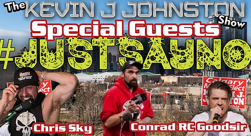 The Kevin J. Johnston Show With Chris Sky and Conrad RC Goodsir