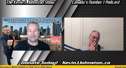 The Kevin J. Johnston Show With Special Guests!! July 29