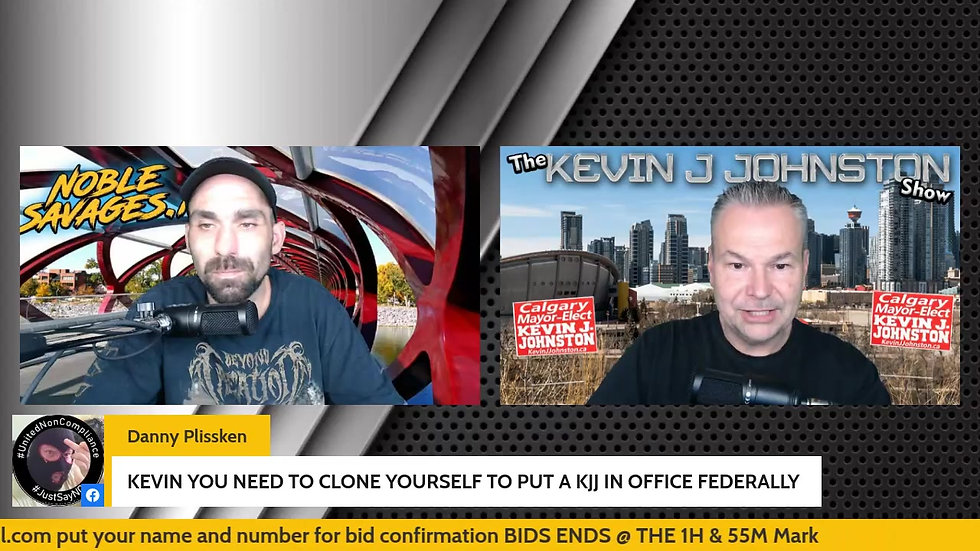 The Kevin J. Johnston Show Martin Is Back To Tell Us More About What Hes Has Uncovered
