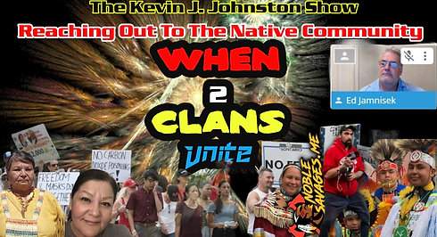 The Kevin J. Johnston Show  Let's Have A Discussion On What's Going On In The Native Community We Have To Unite  All Of Us