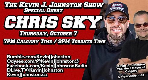 The Kevin J. JohnsThe Kevin J Johnston Show Chris Sky's Crazy Canadian Adventureston Show RCMP Officer Talks About Freedom