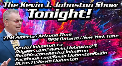 Description:The Kevin J. Johnston Show - with a SPECIAL GUEST ! ! !