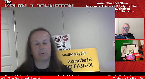 The Kevin J. Johnston Show Once Upon a Time In Cambodia?