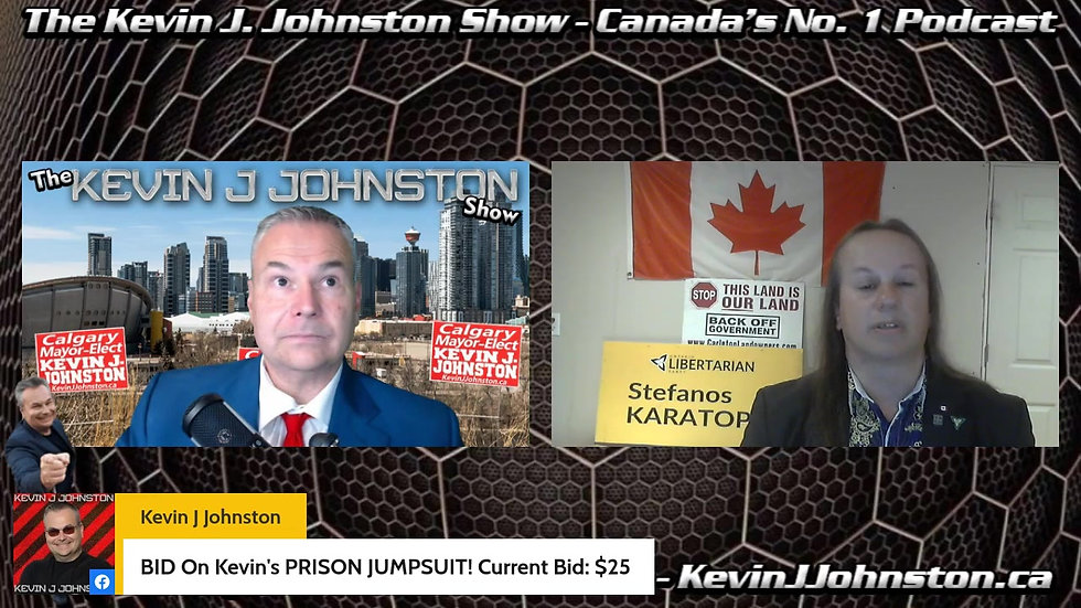 The Kevin J. Johnston Show Australia Is Taking Everyone's Property By Force. Former Aussie Government Official Confirms LIVE!