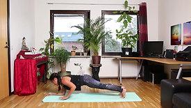 CORE Yoga cơ bản bài 8: PLANK cao thấp