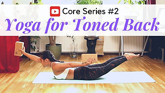 CORE #2Yoga for Toned Back