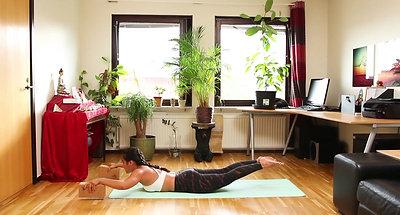 CORE Yoga cơ bản bài 2: Lưng Khỏe Đẹp