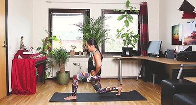CORE Yoga cơ bản bài 7: tập MÔNG