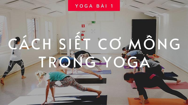 Chuỗi Yoga Cơ Bản về Hông - Chân
