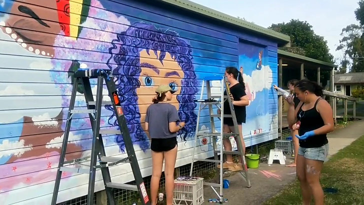 Byron Bay Art Install