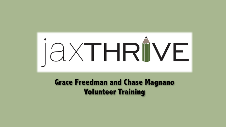 JaxTHRIVE Training Video