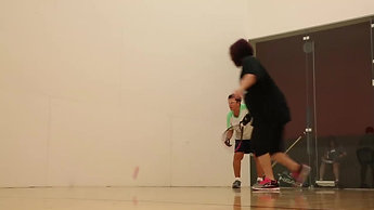 Las Vegas Vets training for 3 Wallball adaptive sport competition