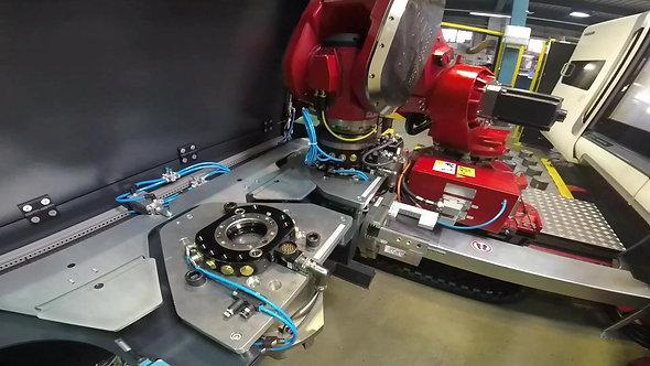Maschinenbeladung bis zu 100 kg bei der Femec AG CH